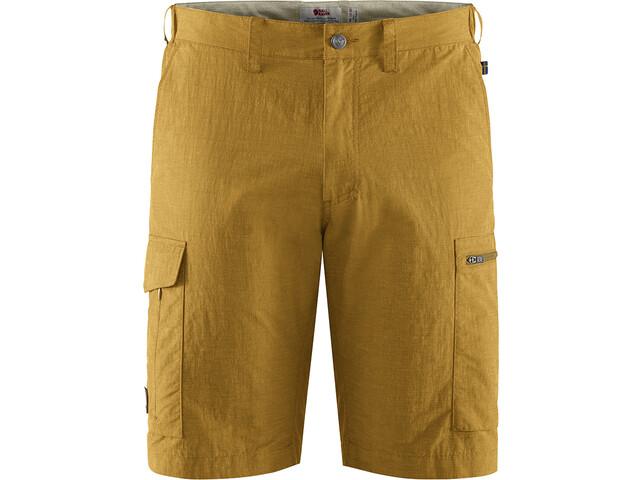 Fjällräven Travellers MT Pantaloncini Uomo, giallo